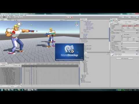 Unity 3D Brawler 2D -  Diário de bordo - Parte 3 (Beat' em Up)