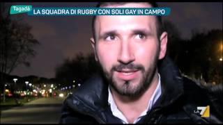 La squadra di Rugby con soli Gay in campo