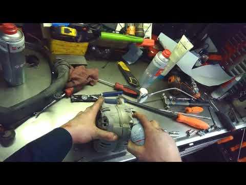VW 1K: 2.0T FSI Alternator removal (Part 1 of 2)