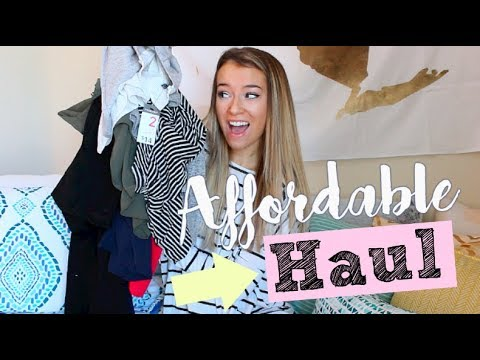 HUGE Affordable Try on Clothing Haul for School 2018!