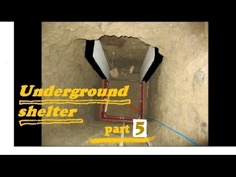UNDERGROUND shelter, How to build an underground Bunker!!! #5
