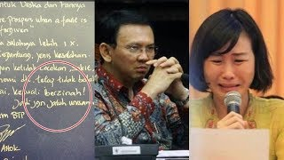 Bikin MERINDING..Isi Lengkap Surat Cerai Ahok, Beberkan Kelakukan Veronica Tan dari 2010,