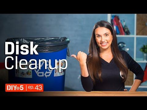 How to Speed Up Your PC – Windows 10 Disk clean up 💾 DIY in 5 Ep 43
