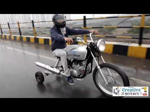 how to make motorized trike bike part-2