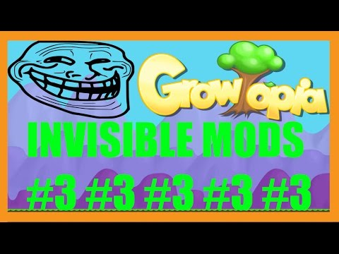 Growtopia | Invisible Mod Sighting #3 (RE-UPLOAD)