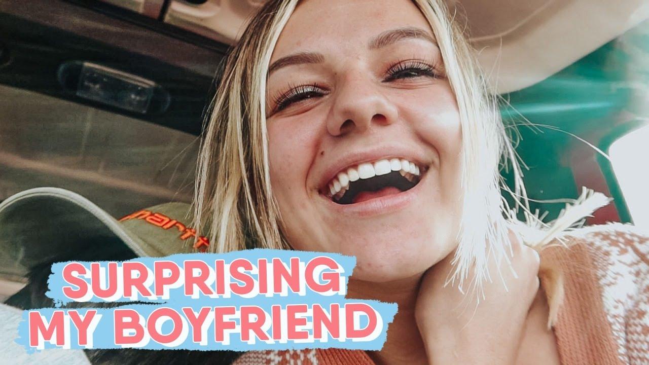 SURPRISING MY BOYFRIEND AT WORK || KESLEY JADE LEROY