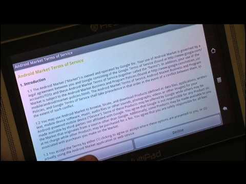 Android Market Instalation Instruction - tablet.bg (Bulgarian Full HD Version)