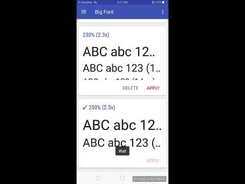 How to Change Font Size in Any Android Device [Without Root]