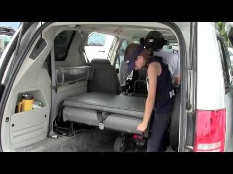 3rd Row Bench Seat,  Handicap Conversion Vans   Triple S Mobility Family Van 7 Seater