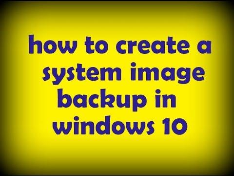how to create a system image backup in windows 10 | উইন্ডোজ ১০ এ সিস্টেম ইমেজ ব্যাকআপ রাখুন