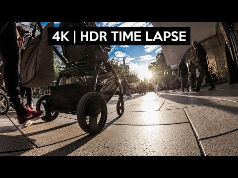 4K HDR TIME LAPSE with your DSLR   TUTORIAL
