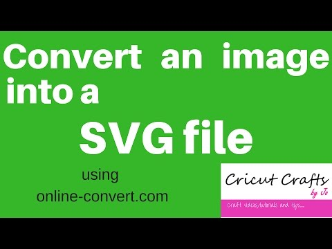 📸💻🖼How to convert jpeg, pdf, png, bmp image into SVG file 🖼💻📸