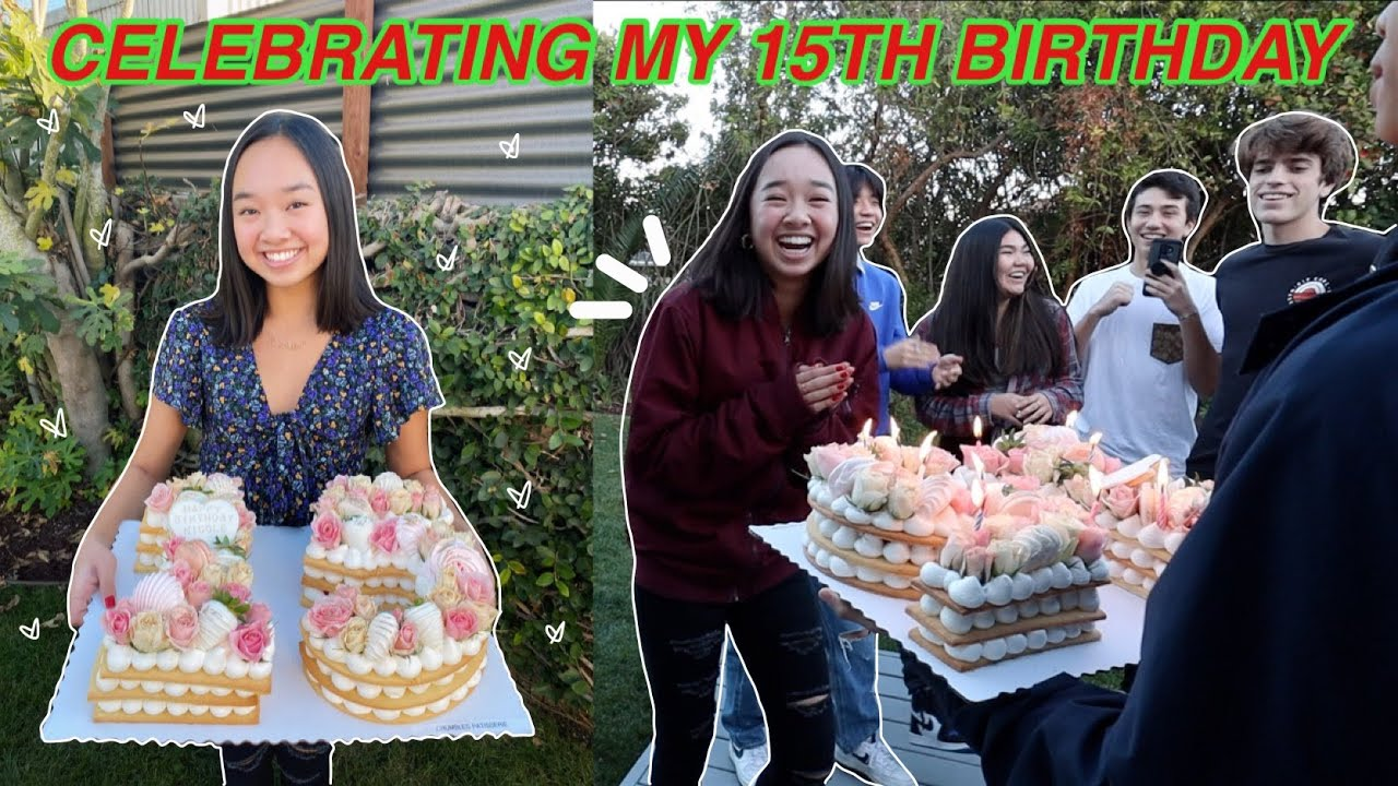 CELEBRATING MY 15TH BIRTHDAY! Vlogmas Day 5   Nicole Laeno