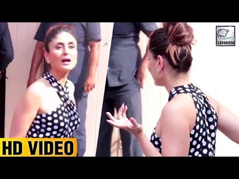 Kareena Kapoor Shows TANTRUMS To Media Photographers | Veere Di Wedding | LehrenTV
