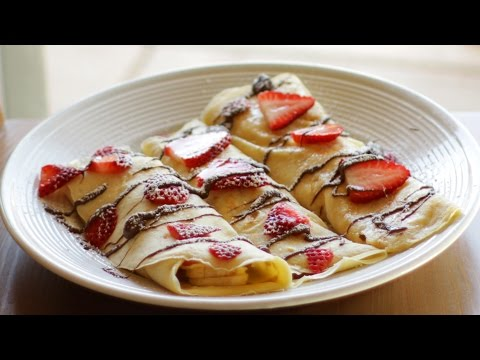 How to Make Crepes - Easy Crepe Recipe