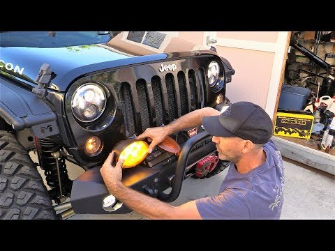 Jeep Upgrades! Trail Rocker Switches and JW Speaker Lights PLUS E-Locker Bypass Hack