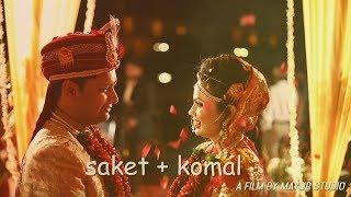 The Wedding Trailer Of Saket &  Komal