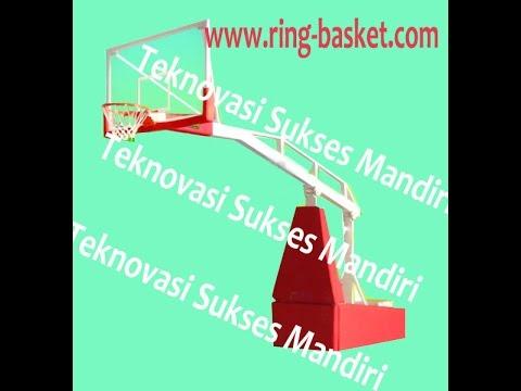 Ring Basket Portabel HIdrolik Listrik Model BSP -02  - Uji Coba