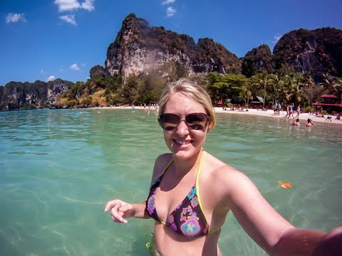 Krabi Thailand VS Phuket, Which is a better beach? Rock Climbing & Long Tail Boat Rides