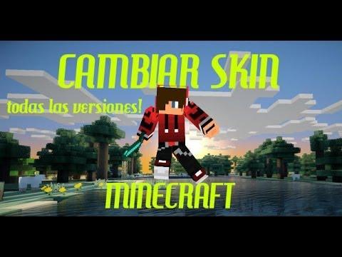 Como Cambiar El Skin De Minecraft 1.8/1.9 (TODAS LAS VERSIONES!) 2016