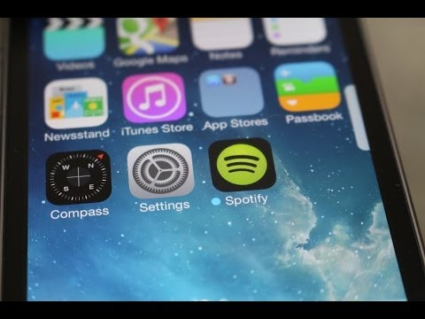 How to Remove the Blue Dots on Updated Apps in iOS 7