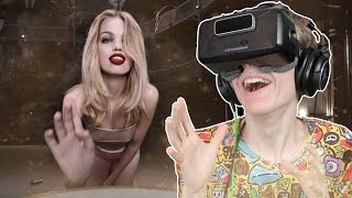 HOT GIRLS IN VIRTUAL REALITY! | Jean Paul Gaultier: 360° VR Experience (Oculus Rift DK2)
