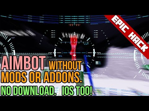 HOW TO AIMBOT WITHOUT MODS OR ADDONS 🤤 - Minecraft PE (works on iOS TOO)