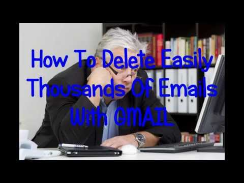 How To Mass Delete Emails With Gmail