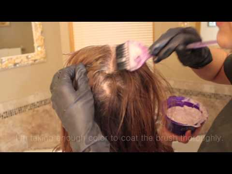 How I dye my mom's hair AT HOME!