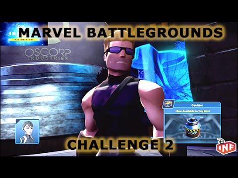 Marvel Battlegrounds Challenge 2 Disney Infinity