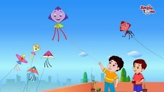 Chali Re Meri Patang(चली रे मेरी पतंग) | Hindi Kids Song | Animated Song by Jingle Toons
