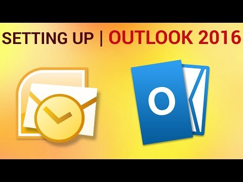 How to Setup Outlook 2016 and Configure Email