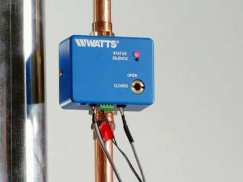FloodSafe™ Water Detector Shutoff