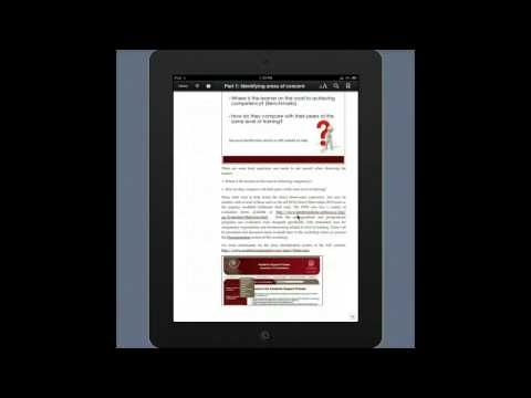 Adjusting the font size in iBooks