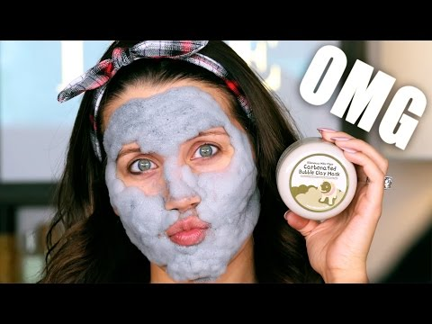 CARBONATED BUBBLE CLAY MASK ... OMG