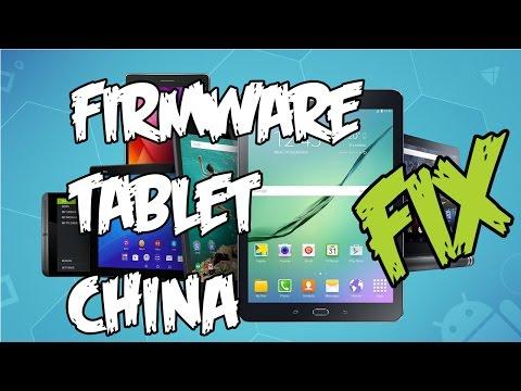 Recuperar firmware de tablet china o celular android. Eliminar troyanos. Ejemplo: Tablet aprix 100i.