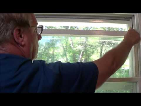 Removing Mold & Mildew on Window