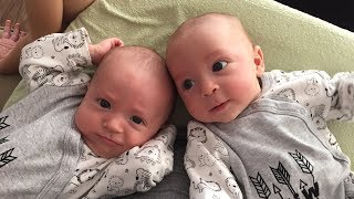 Funny Talking Twin Babies - Funny Baby Videos