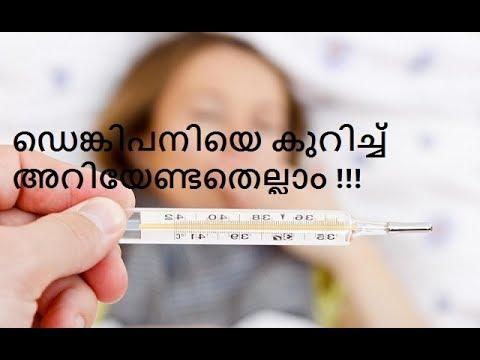 ഡെങ്കിപനിയെ കുറിച്ച്  അറിയേണ്ടതെല്ലാം !!! Dengue fever-Causes, Symptoms & Prevention tips.