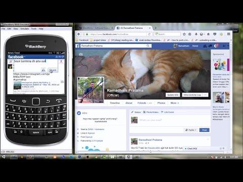 Tutorial How to Get Access Token Facebook BlackBerry Apps