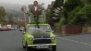 Mr Bean - Fahrt auf dem Autodach