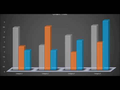 HOW TO CREATE 3D BAR GRAPH: MICROSOFT POWERPOINT 2016 TUTORIAL