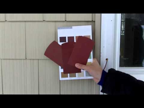 Picking the Color of the Front Door