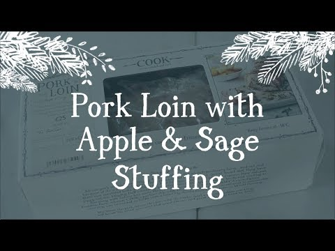 Pork Loin with Apple & Sage Stuffing
