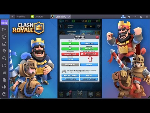 (Clash Royale) How To Switch your accounts on one device.