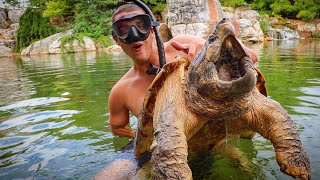 POND MONSTER Caught Out Of 1 Million Dollar Pond!!