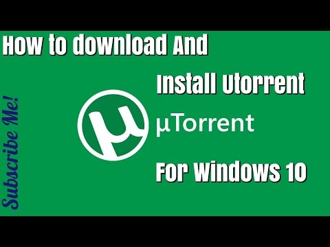 How to download and install utorrent for windows 10 pro