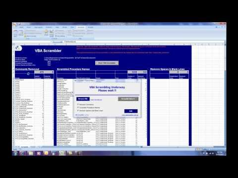 VBA Scrambler - Protect your VBA code