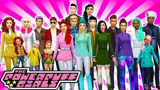 ⛄POWERPUFF GIRLS WINTER MAKEOVERS & HOUSE TOUR!🏡 The Sims 4 Powerpuff Girls: Power of Four (Ep 42)