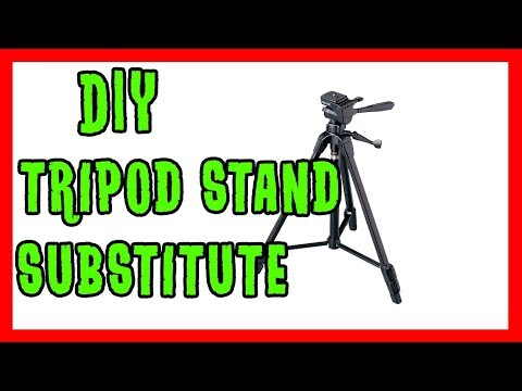 DIY Tripod Substitute - How to Make A Substitute for A Tripod Stand